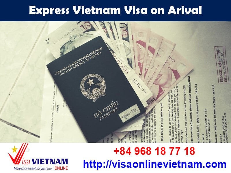 Express Vietnam visa is the fastest way to get your Vietnam visa