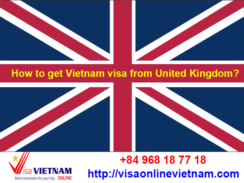 How to get Vietnam visa from United Kingdom?